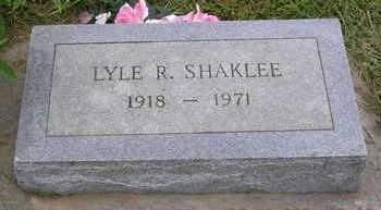 SHAKLEE, LYLE RODNEY - Madison County, Iowa | LYLE RODNEY SHAKLEE