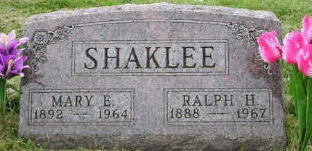 SHAKLEE, RALPH HARRISON - Madison County, Iowa | RALPH HARRISON SHAKLEE