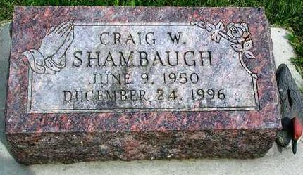 SHAMBAUGH, CRAIG WENDELL - Madison County, Iowa | CRAIG WENDELL SHAMBAUGH