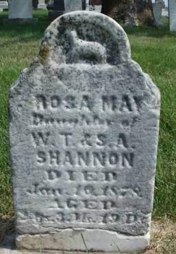 SHANNON, ROSA MAY - Madison County, Iowa   ROSA MAY SHANNON