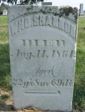 SHANNON, WILLIAM D. - Madison County, Iowa | WILLIAM D. SHANNON