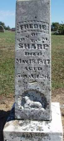 SHARP, FREDIE - Madison County, Iowa | FREDIE SHARP
