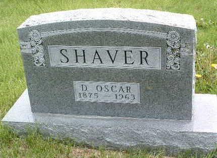 SHAVER, DANIEL OSCAR - Madison County, Iowa | DANIEL OSCAR SHAVER