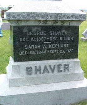 SHAVER, GEORGE - Madison County, Iowa | GEORGE SHAVER