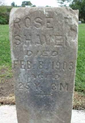 SHAVER, ROSE E. - Madison County, Iowa | ROSE E. SHAVER