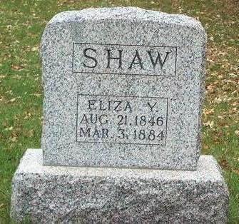 SHAW, ELIZA Y. - Madison County, Iowa | ELIZA Y. SHAW