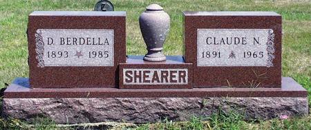 SHEARER, CLAUDE NAPOLEON - Madison County, Iowa | CLAUDE NAPOLEON SHEARER