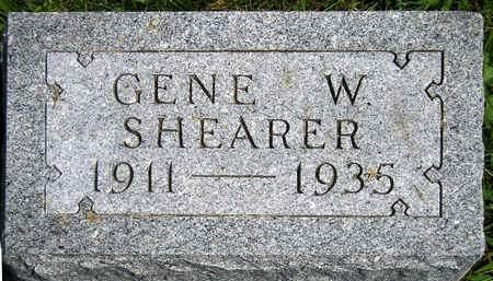 SHEARER, GENE WILLIAM - Madison County, Iowa | GENE WILLIAM SHEARER
