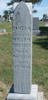 SHEARER, JAMES WESLEY - Madison County, Iowa | JAMES WESLEY SHEARER