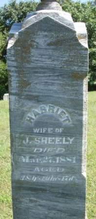 SHEELY, HARRIET - Madison County, Iowa | HARRIET SHEELY