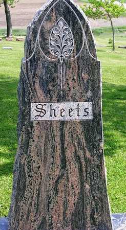 SHEETS, FAMILY HEADSTONE - Madison County, Iowa | FAMILY HEADSTONE SHEETS
