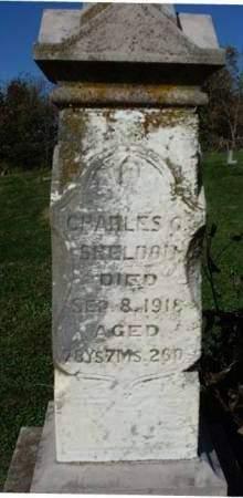 SHELDON, CHARLES GILBERT - Madison County, Iowa   CHARLES GILBERT SHELDON