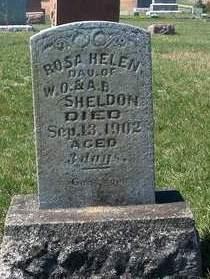 SHELDON, ROSA HELEN - Madison County, Iowa   ROSA HELEN SHELDON