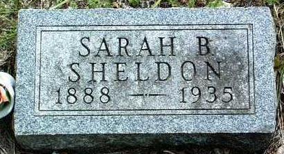 SHELDON, SARAH BLOSSOM - Madison County, Iowa | SARAH BLOSSOM SHELDON