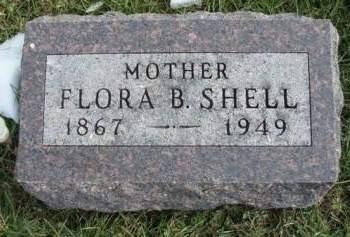 SHELL, FLORA BELLE - Madison County, Iowa | FLORA BELLE SHELL