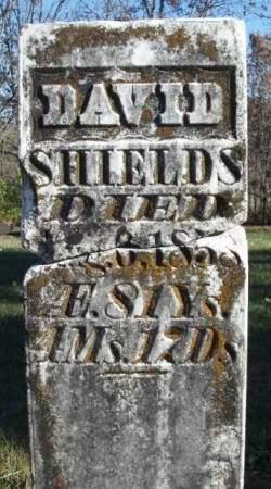 SHIELDS, DAVID - Madison County, Iowa | DAVID SHIELDS