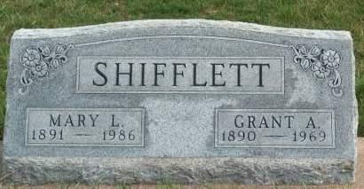 SHIFFLETT, GRANT A. - Madison County, Iowa   GRANT A. SHIFFLETT