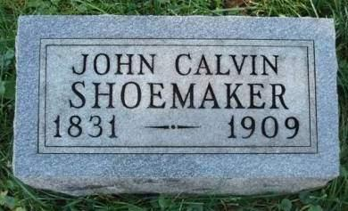 SHOEMAKER, JOHN CALVIN - Madison County, Iowa | JOHN CALVIN SHOEMAKER