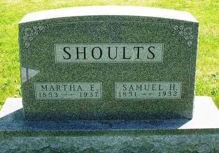 SHOULTS, MARTHA ELIZABETH - Madison County, Iowa | MARTHA ELIZABETH SHOULTS