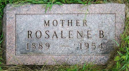 SHOWERS, ROSALENE BELLE MAY - Madison County, Iowa | ROSALENE BELLE MAY SHOWERS