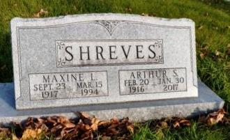 SHREVES, ARTHUR S. - Madison County, Iowa | ARTHUR S. SHREVES