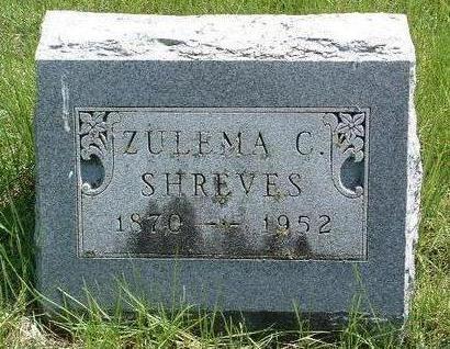 SHREVES, ZULEMA C. - Madison County, Iowa | ZULEMA C. SHREVES