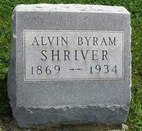 SHRIVER, ALVIN BYRAM - Madison County, Iowa | ALVIN BYRAM SHRIVER