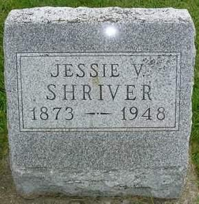 SHRIVER, JESSIE V. - Madison County, Iowa | JESSIE V. SHRIVER