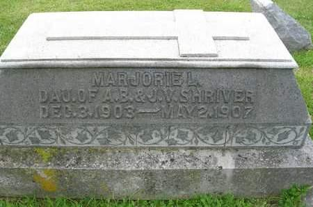 SHRIVER, MARJORIE - Madison County, Iowa | MARJORIE SHRIVER