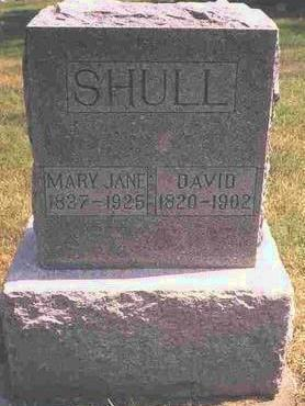 SHULL, DAVID FRANKLIN - Madison County, Iowa | DAVID FRANKLIN SHULL