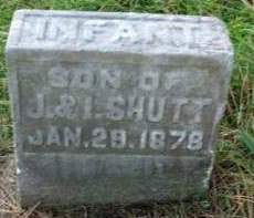 SHUTT, INFANT SON - Madison County, Iowa | INFANT SON SHUTT