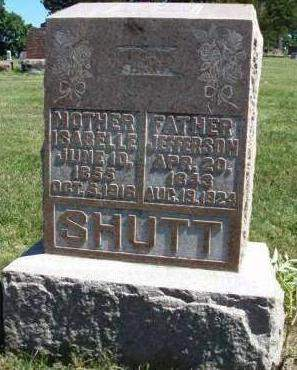 SHUTT, JEFFERSON HARRISON - Madison County, Iowa | JEFFERSON HARRISON SHUTT