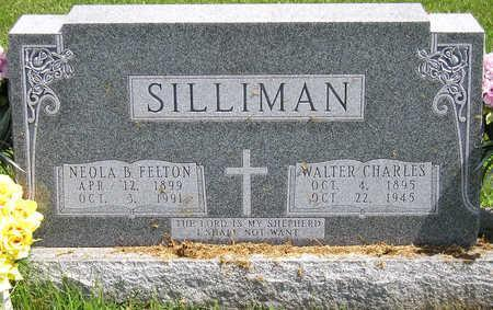 SILLIMAN, WALTER CHARLES - Madison County, Iowa | WALTER CHARLES SILLIMAN