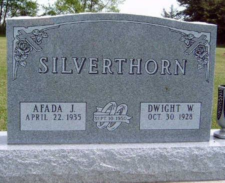 SILVERTHORN, AFADA J. - Madison County, Iowa   AFADA J. SILVERTHORN