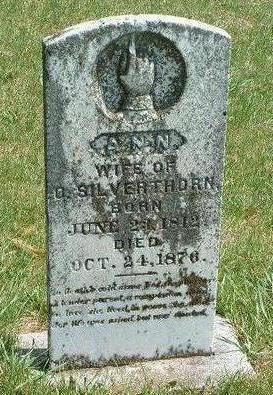 SILVERTHORN, ANN - Madison County, Iowa | ANN SILVERTHORN