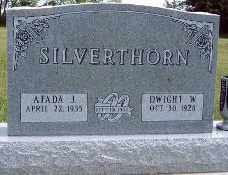 SILVERTHORN, DWIGHT WAYNE - Madison County, Iowa   DWIGHT WAYNE SILVERTHORN