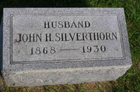 SILVERTHORN, JOHN H. - Madison County, Iowa | JOHN H. SILVERTHORN