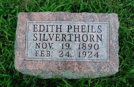 SILVERTHORN, SADIE EDITH - Madison County, Iowa   SADIE EDITH SILVERTHORN