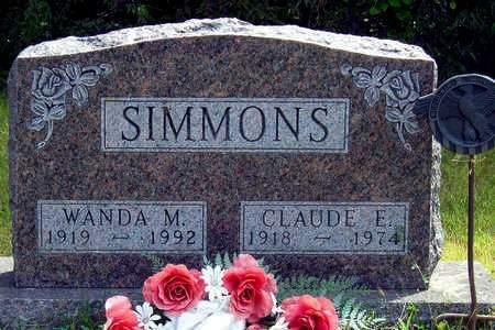 SIMMONS, CLAUDE EARL - Madison County, Iowa | CLAUDE EARL SIMMONS