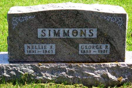 SIMMONS, NELLIE FRANCES - Madison County, Iowa | NELLIE FRANCES SIMMONS