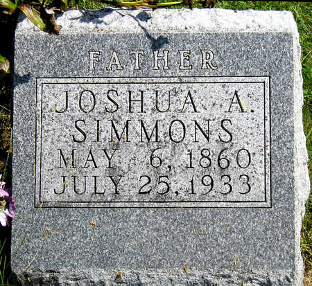 SIMMONS, JOSHUA ALFRED - Madison County, Iowa   JOSHUA ALFRED SIMMONS