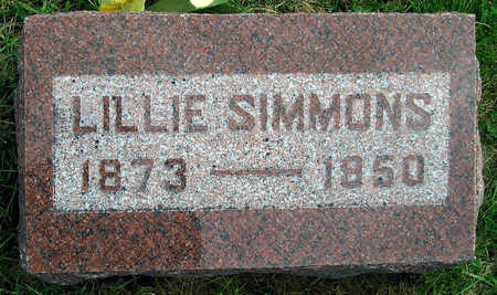 SIMMONS, LILLIE - Madison County, Iowa | LILLIE SIMMONS