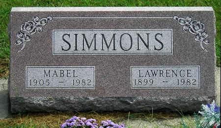 SIMMONS, LAWRENCE ETHEL - Madison County, Iowa | LAWRENCE ETHEL SIMMONS