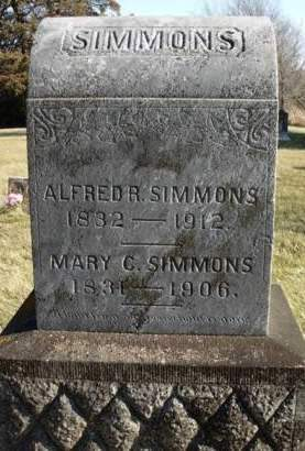 SIMMONS, ALFRED REESE - Madison County, Iowa | ALFRED REESE SIMMONS