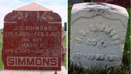 SIMMONS, MARY CATHERINE - Madison County, Iowa   MARY CATHERINE SIMMONS