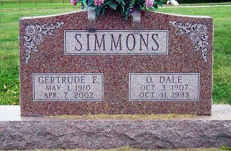 SIMMONS, ORA DALE - Madison County, Iowa | ORA DALE SIMMONS