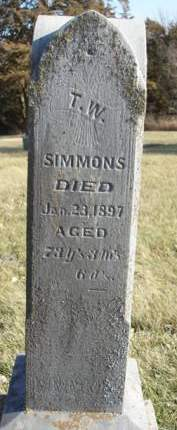 SIMMONS, THOMAS WILLIAM - Madison County, Iowa | THOMAS WILLIAM SIMMONS
