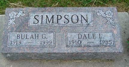 SIMPSON, DALE LEROY - Madison County, Iowa | DALE LEROY SIMPSON