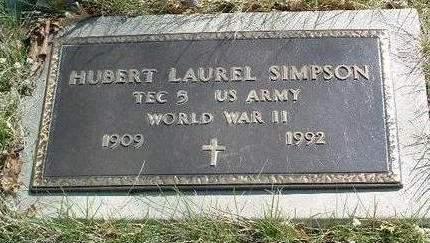 SIMPSON, HUBERT LAUREL - Madison County, Iowa   HUBERT LAUREL SIMPSON