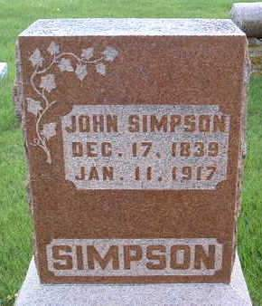 SIMPSON, JOHN - Madison County, Iowa | JOHN SIMPSON